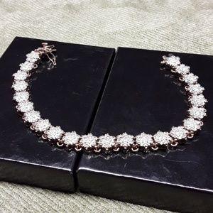 Jewelry - diamond and gold bracelet